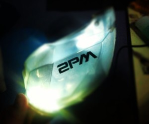2PM, lightstick, and fan light image