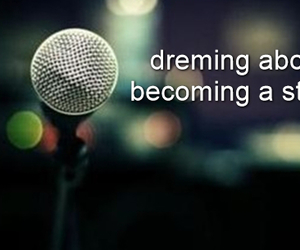 celebrity, Dream, and singing image
