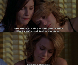 one tree hill, brooke, and peyton image