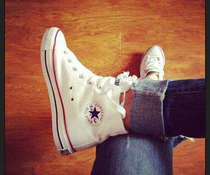 white, all star, and converse image