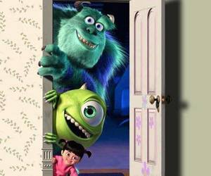 disney, monsters inc, and boo image