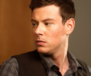 glee and cory monteith image