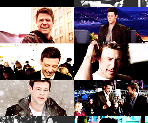 cory monteith, love of my life, and my men image