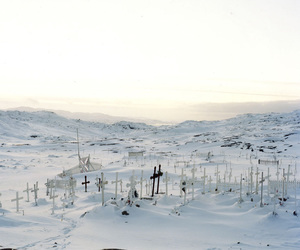 cemetery, cold, and death image