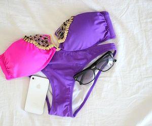 bikini, summer, and iphone image