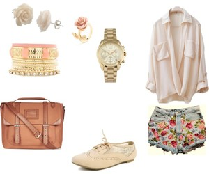 cool, flower, and outfit image