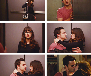 jess, nick, and newgirl image