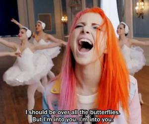colorful hair, hayley, and hayley williams image