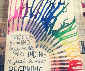 quote, crayon, and life image