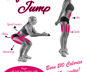 fitness, squats, and workout image