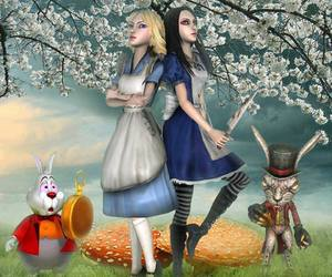 alice madness returns and alice in wonderland image