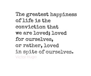 quote, victor hugo, and love image