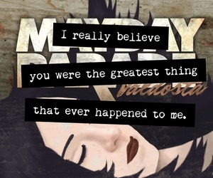 mayday parade, quote, and text image