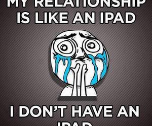 ipad, Relationship, and funny image