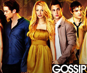 girl, gossip, and serie image