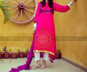 fashion, pakistani dresses, and pakistani fashion image