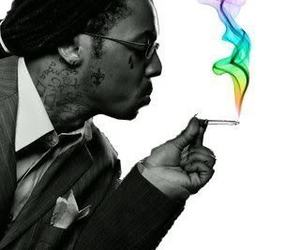 lil wayne, smoke, and dope image