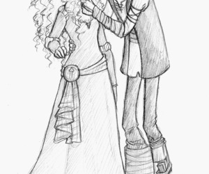 merida, hiccup, and love image