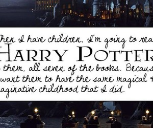 harry potter, typography, and quotes image