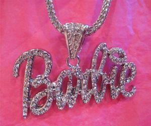 barbie, pink, and necklace image