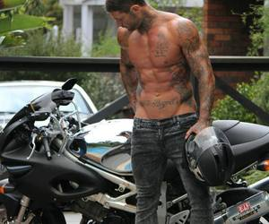 boy, motorcycle, and tatoos image