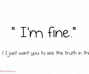 fine, lie, and want image