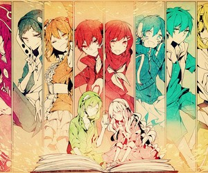 anime, kagerou project, and manga image