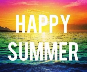 summer, happy, and beach image