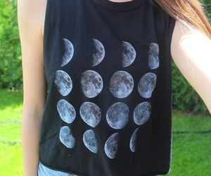 fashion, cool, and moon image