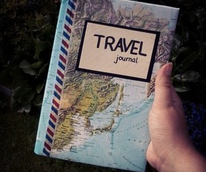 airmail, journal, and map image