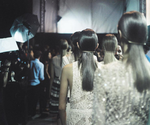 backstage, model, and elie saab image