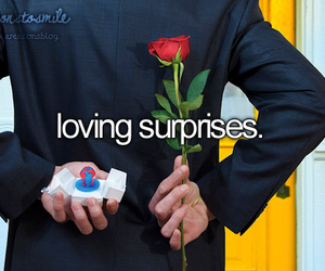 surprises and rose image