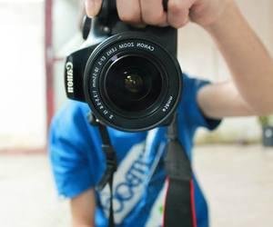 boy, camera, and canon image