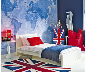 room, bedroom, and london image