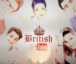 zoella, youtube, and british image