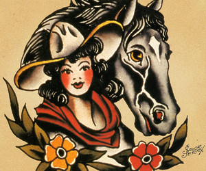 cool, man, and Cowgirl image