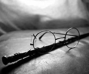 harry potter, photo, and preto e branco image