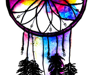 Dream, colors, and dream catcher image