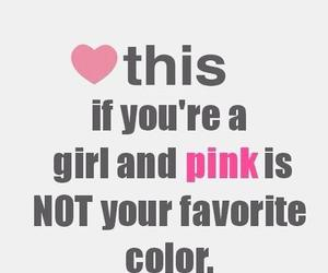 pink, girl, and color image