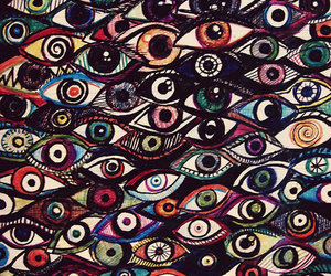 eyes, wallpaper, and art image