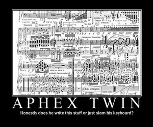 aphex twin and funny image