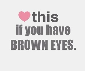 eyes, heart, and brown eyes image