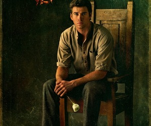 gale, catching fire, and hunger games image