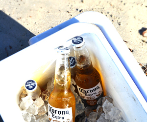 alcohol, beach, and summer image