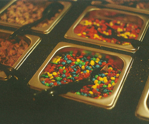 candy, MM, and spoon image
