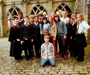 dumbledore's army, hermione, and james and oliver phelps image