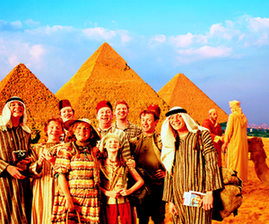 egypt and weasley family image