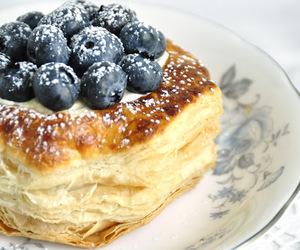 blueberry, lemon, and tart image