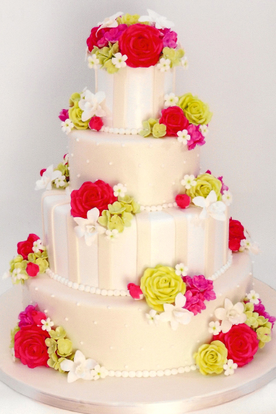 cake boss wedding cakes with flowers cake wedding pictures to pin on tattooskid 12294