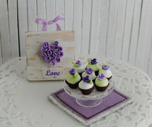 bandejas, chocolate, and cup cakes image